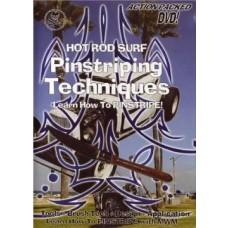 Pinstriping Techniques Vol. 1 (DVD)