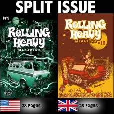 Rolling Heavy Magazine #09-#10 Split Issue