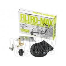 Filtromax Universal Remote Oil Filter Mount & Big Twin Bracket - Black - Lowbrow Customs