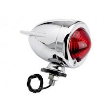 Cycle Standard Bullet Dual Fin Market Light - Red - Single Filament