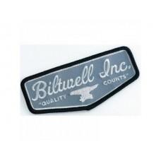 Biltwell, Inc. Shield Patch - Grey