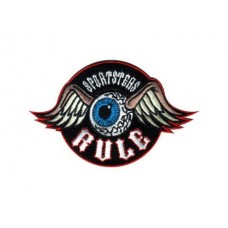 Sportsters Rule Die Cut Sticker