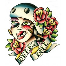 Derby Doll Sticker