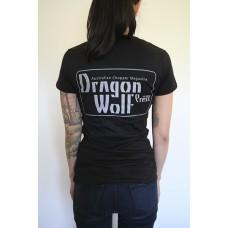 Dragon Wolf Press T-Shirt - Grey Print