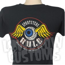 Lowbrow Customs Ladies Sportsters Rule T-Shirt
