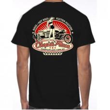 Chops's Place Black T-Shirt